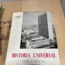 Libros de segunda mano: LIBRO HISTORIA UNIVERSAL. Lote 264988839