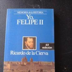 Libros de segunda mano: FELIPE II, MEMORIAS DE LA HISTORIA. Lote 268742049
