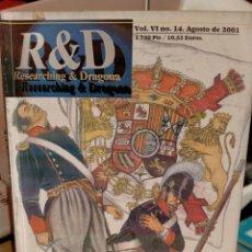 Livros em segunda mão: RESEARCHING & DRAGONA 14. Lote 268858034