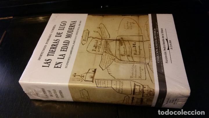 2001 -SOBRADO CORREA - LAS TIERRAS DE LUGO EN LA EDAD MODERNA. ECONOMÍA CAMPESINA, FAMILIA, HERENCIA (Libros de Segunda Mano - Historia Moderna)