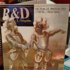 Livros em segunda mão: RESEARCHING & DRAGONA 13. Lote 269686283