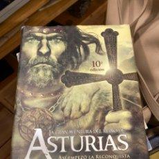 Libros de segunda mano: LIBRO ASTURIAS ASÍ EMPEZÓ LA RECONQUISTA. Lote 270121528