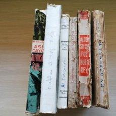 Libros de segunda mano: LOTE DE 6 LIBROS SOBRE ALFONSO XIII. Lote 270126353