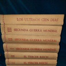 Libros de segunda mano: PRIMERA,SEGUNDA GUERRA MUNDIAL,EL TERCER REICH,Y LA GUERRA DE LOS 100 DIAS,DOCUMENTOS Y FOTOGRAFÍAS. Lote 271093558