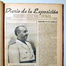Libros de segunda mano: DIARIO DE LA EXPOSICIÓN. IX FERIA INTERNACIONAL DE MUESTRAS (Nº 1 A 20) - BARCELONA 1943. - ILUSTRA. Lote 271129793