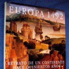 Libros de segunda mano: EUROPA 1492. RETRATO DE UN CONTINENTE HACE 500 AÑOS - FRANCO CARDINI. EDITORIAL ANAYA. Lote 271705098