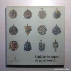 Libros de segunda mano: CATÀLEG DE XAPES DE GUARNIMENT ---FONS MUSEU FREDERIC MARÈS 2-AJUNTAMENT DE BARCELONA-. Lote 272132313