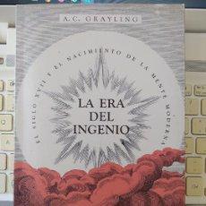 Libros de segunda mano: LA ERA DEL INGENIO, EL SIGLO XVII Y EL NACIMIENTO DE LA MENTE MODERNA, ED. ARIEL, 2017 RARO. Lote 272581988