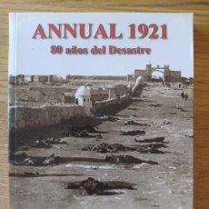 Livros em segunda mão: MARRUECOS, ANNUAL, 80 AÑOS DEL DESASTRE, JUAN PALMA, ALMENA EDICIONES, 2001. Lote 275534258