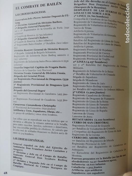 Libros de segunda mano: Bailén : la batalla que cambio el rumbo de Napoleon Alcaide Yebra, J.A. La espada y la pluma, 2005 - Foto 6 - 275917518