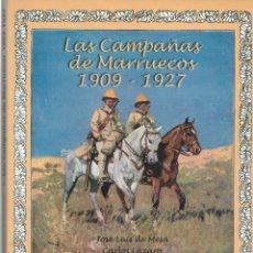 Libros de segunda mano: LAS CAMPAÑAS DE MARRUECOS 1909-1927. Lote 280329073