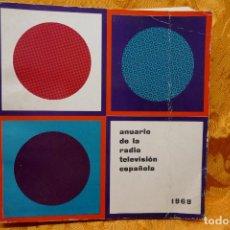 Libros de segunda mano: ANUARIO DE LA TELEVISIÓN Y RADIO ESPAÑOLA 1969 (DIFICIL!!). Lote 284384643