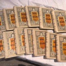 Libros de segunda mano: EDICIÓN COMPLETA LIBROS HISTORIA DE CATALUÑA DE 1-26 ENCUADERNADOS EN 13 TOMOS. Lote 285844713
