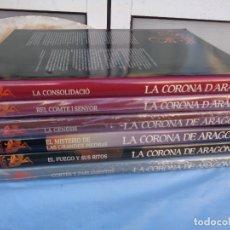 Libros de segunda mano: LA CORONA DE ARAGÓN LA CORONA D´ARAGÓ. 1988. Lote 286755423