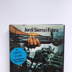 Libros de segunda mano: EN CANARIAS SE HA PUESTO EL SOL - JORDI SIERRA I FABRA - ED. PLANETA, 1979. Lote 288628683