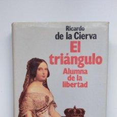 Libros de segunda mano: EL TRIÁNGULO. ALUMNA DE LA LIBERTAD - RICARDO DE LA CIERVA - ED. PLANETA, 1988. Lote 288645873