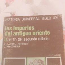 Libros de segunda mano: LOS IMPERIOS DEL ANTIGUO ORIENTE. Lote 294114268