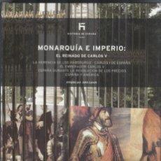 Libros de segunda mano: HISTORIA DE ESPAÑA MONARQUÍA E IMPERIO: EL REINADO DE CARLOS V. Lote 295852868