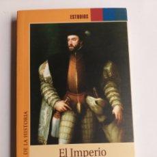 Libros de segunda mano: EL IMPERIO DE CARLOS V. MANUEL FERNÁNDEZ ÁLVAREZ COORD. . HISTORIA ARTE XVI. Lote 296615948