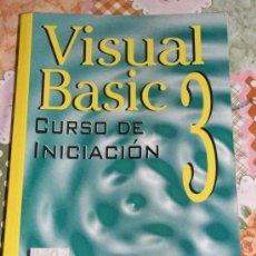 Libros de segunda mano: INFORMATICA VISUAL BASIC 3 1995 LIBRO DE INICIACION. Lote 10717052