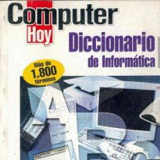 Libros de segunda mano: DICCIONARIO DE INFORMATICA. Lote 6468886