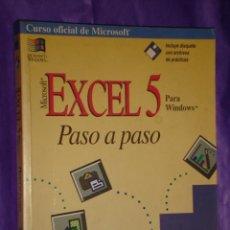 Libros de segunda mano: CURSO OFICIAL DE MICROSOFT - EXCEL 5 - PARA WINDOWS - PASO A PASO - MCGRAW - HILL * AÑO 1995 *. Lote 12315046