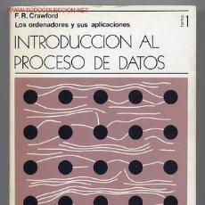 Libros de segunda mano - Introducción al Proceso de Datos (2 tomos, completo). - 26112129