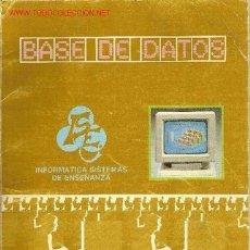 Libros de segunda mano - 'Base de datos'. Introducción a la programación en dBase III. 1988. - 25403342