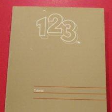 Libros de segunda mano: TUTORIAL PROGRAMA LOTUS 123 (INFORMATICA ). Lote 25542283