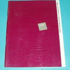 Libros de segunda mano: LOTUS 1-2-3. VERSION 2.2 . GUIA DE REFERENCIA RAPIDA ( INFORMATICA ). Lote 15270459