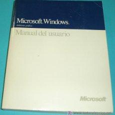 Libri di seconda mano: MICROSOFT WINDOWS. VERSIÓN 3. MANUAL DE USUARIO ( INFORMATICA ). Lote 24513221