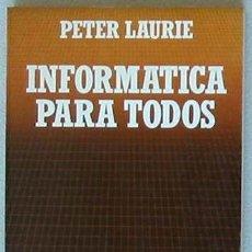 Libros de segunda mano: INFORMÁTICA PARA TODOS - BIBLIOTECA CIENTIFICA SALVAT. Lote 26314134