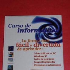 Libros de segunda mano: CURSO DE INFORMATICA. WINDOWS 95.. Lote 26298830