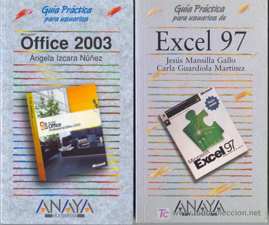 OFFICE 2003 Y EXCEL 97 (Libros de Segunda Mano - Informática)