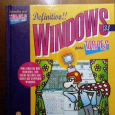 Libros de segunda mano: WINDOWS 3.1 PARA TORPES - ANAYA - INFORMATICA. Lote 27010037