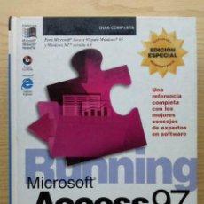 Libros de segunda mano: RUNNING MICROSOFT ACCESS 97 - JONH L. VIESCAS - GUIA COMPLETA - MCGRAW HILL - INFORMATICA. Lote 27043317