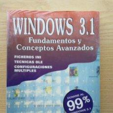 Libros de segunda mano: WINDOWS 3.1 - FUNDAMENTOS Y CONCEPTOS AVANZADOS - MANUEL MONTALBAN VELASCO - EDITORIAL PARANINFO. Lote 27028733