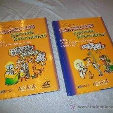 Libros de segunda mano: 2 LIBROS - APRENDE INFORMÁTICA - LA FAMILIA ROMERALES - FORGES - OFFICE - WORLD - EXCEL - ACCESS. Lote 26596697