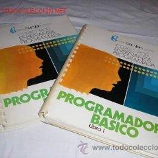 Libros de segunda mano: PROGRAMADOR BASICO INTITUTO BARYLAN DE ENSEÑANZA PROGRAMADA - 1975. Lote 19946081