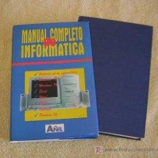 Libros de segunda mano: MANUAL COMPLETO DE INFORMATICA. Lote 26372005