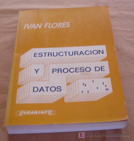 ESTRUCTURACIÓN Y PROCESO DE DATOS - IVAN FLORES. (Libros de Segunda Mano - Informática)