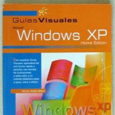Libros de segunda mano: WINDOWS XP HOME EDITION - GUÍAS VISUALES ANAYA - 192 PÁGINAS. Lote 27505362
