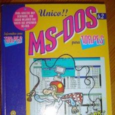 Libros de segunda mano: MS-DOS PARA TORPES, DE ANAYA MULTIMEDIA. AÑO 1995. MANUAL DE INFORMÁTICA. Lote 44380256