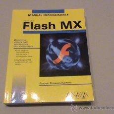 Libros de segunda mano: FLASH MX. Lote 24509142