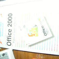 Libros de segunda mano: MANUAL MICROSOFT OFFICE 2000 - GUÍA PRÁCTICA PARA USUARIOS - DE ANAYA MULTIMEDIA. Lote 24768774