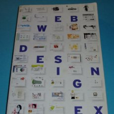 Libros de segunda mano: WEB DESIGN INDEX 3. GÜNTER BEER. CONTIENE CD-ROM. Lote 25001342