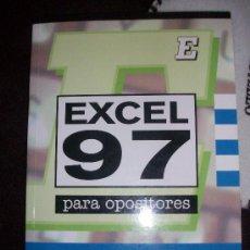 Libros de segunda mano: LIBRO PARA OPOSICIONES DE EJERCICIOS EXCEL 97. Lote 26797411