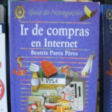 Libros de segunda mano: EDITORIAL ANAYA DIRECCIONES WEBS IR DE COMPRAS EN INTERNET - WEB ADDRESSES IN INTERNET SHOPPING. Lote 27846379