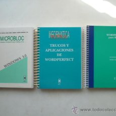 Libros de segunda mano: LOTE DE 3 LIBROS DE :MICROBLOC... (VÉR FOTOS.. Lote 25555000