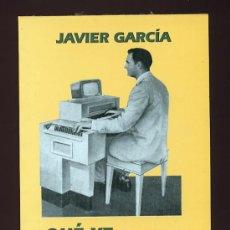 Libros de segunda mano: ¿ QUE YE UN ORDENADOR? JAVIER GARCIA. EN ASTURIANO. LLIBROS DEL PEXE. 1991 ASTURIAS. Lote 25909206